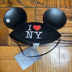 NWT Disney kids Mickey Mouse i love NY hat